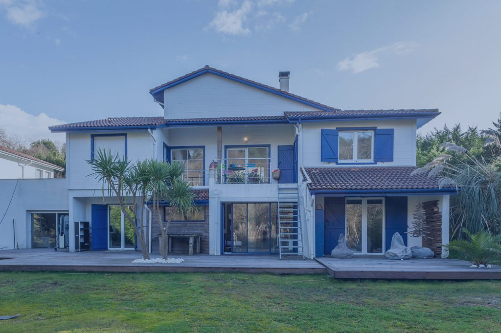 villa uhaina vue nord villas to rent biarritz france louer villa pays basque location villa 64