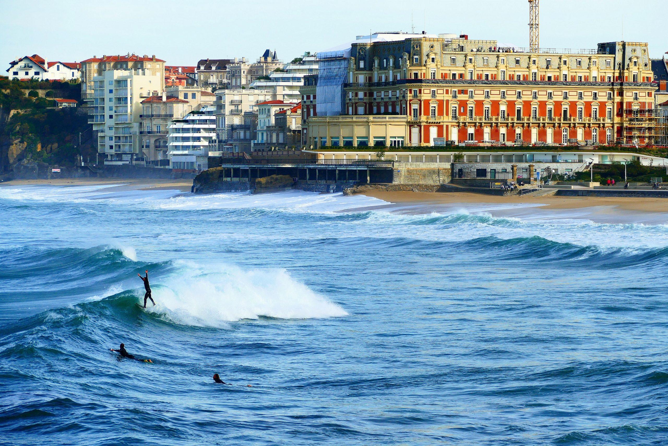Grande Plage Biarritz activité Biarritz quoi faire à Biarritz