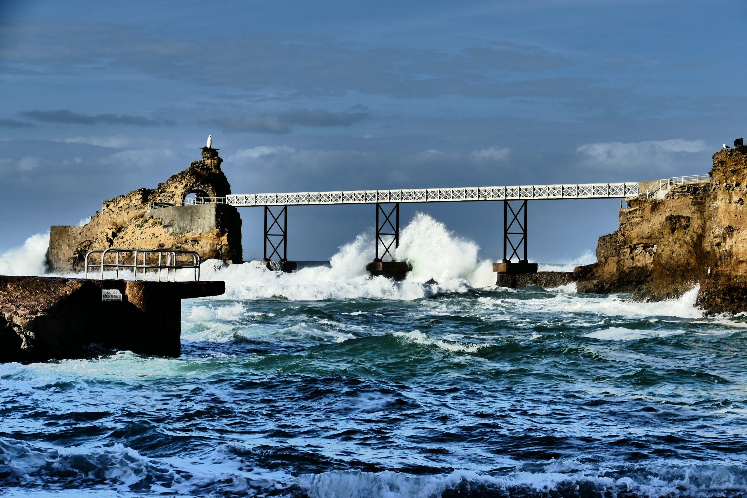 Rocher de la Vierge activité Biarritz quoi faire à Biarritz