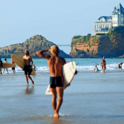 cote des basques activités biarritz